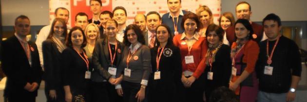 25 de activiști PES la Convenția Partidului Socialiștilor Europeni de la Bruxelles