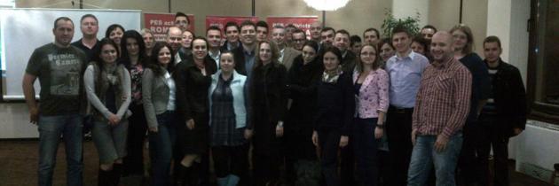 Întâlnirea anuală a coordonatorilor PES activists la Predeal