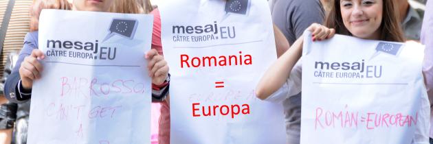 100 de participanti pentru MesajcatreEuropa.eu