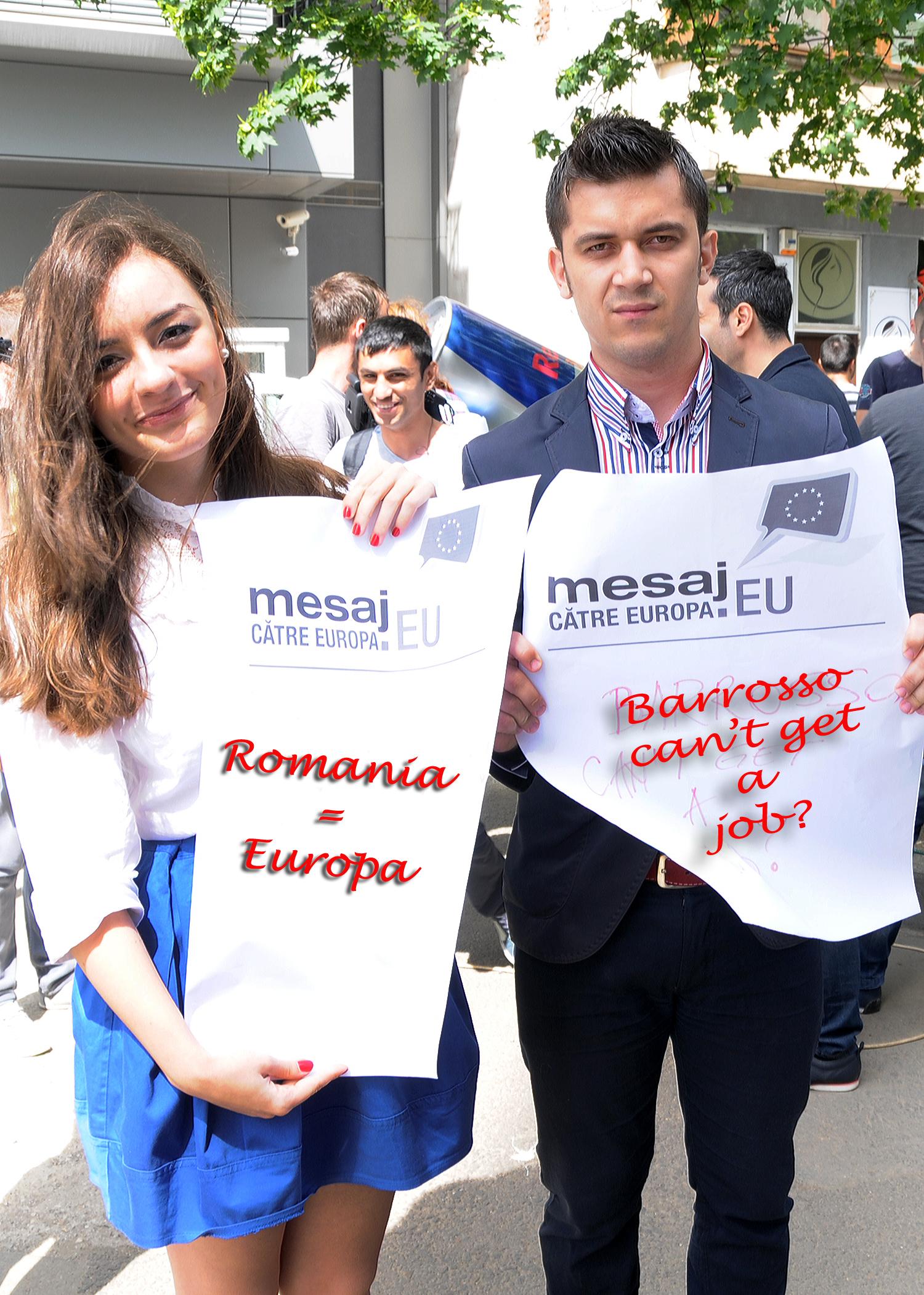 PES activists Romania 2
