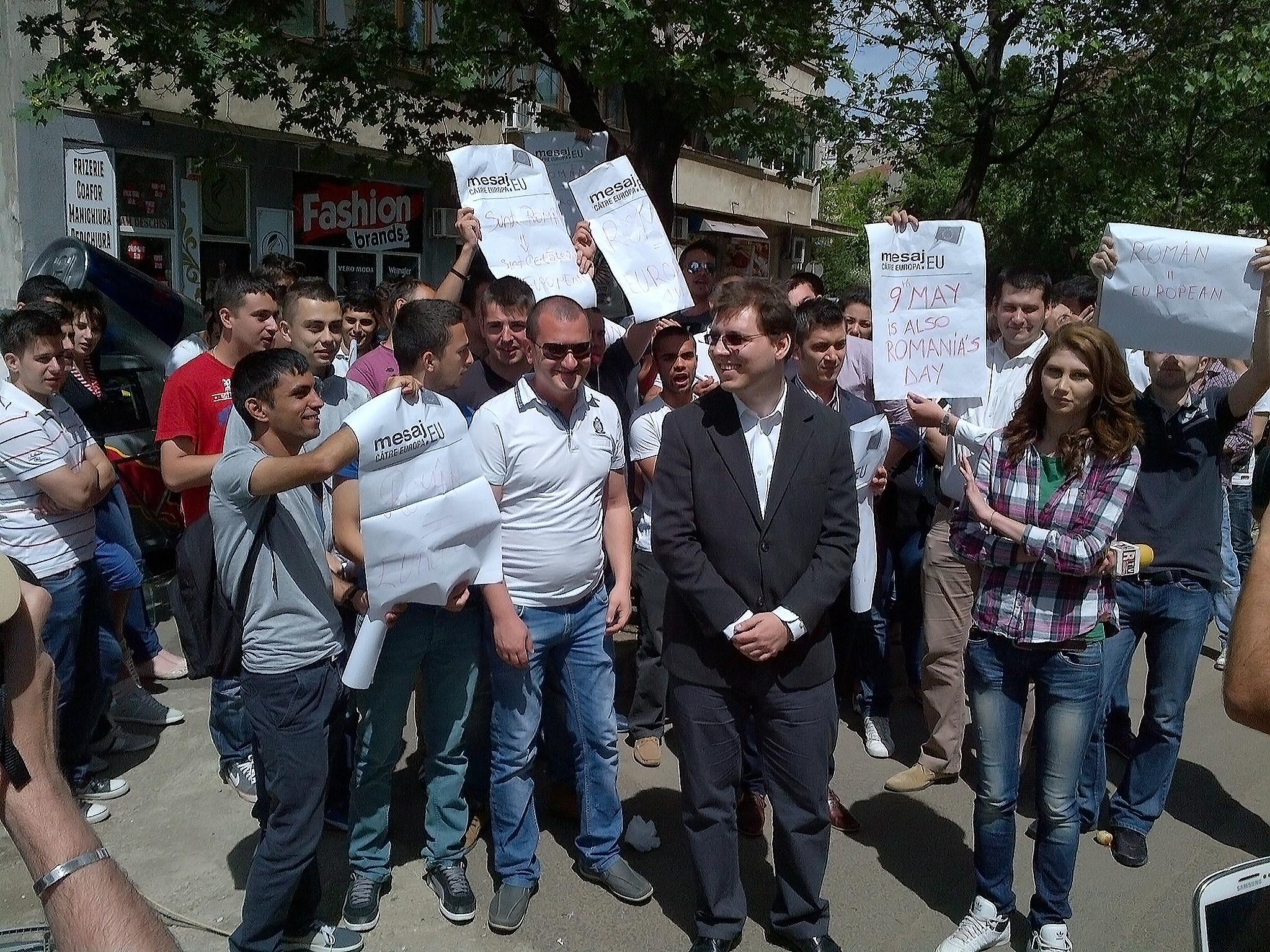 PES activists Romania 7