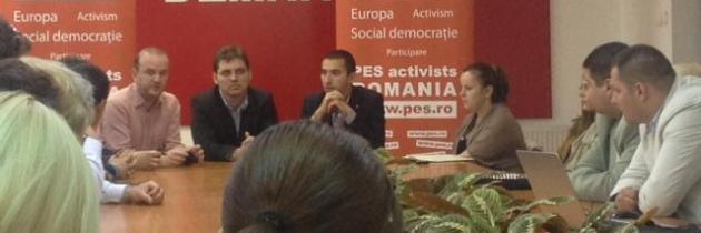 "Lansarea campaniei europene ""Stop banilor negri"" la Timiș"