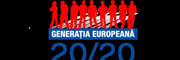"""Școala de Vară """"EU Generation 2020"""" – 19-21 iulie la Mamaia"""
