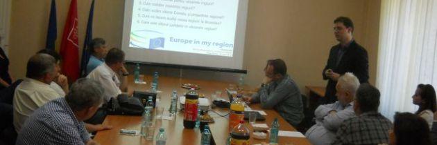 Dezbatere privind Europa regiunilor la Târgu Mureș