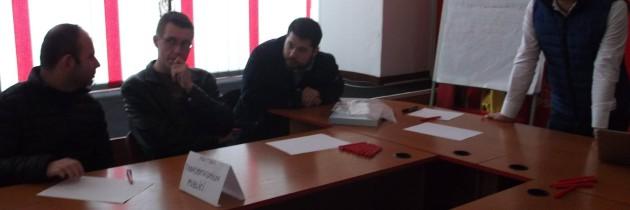 Trainingurile PES activists organizate de Pes Galați.