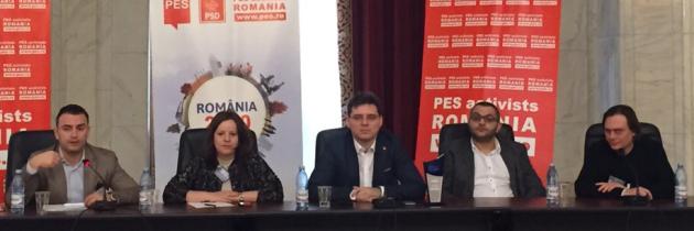 "Europeanul.org, ""profesor"" la PES Activists România"