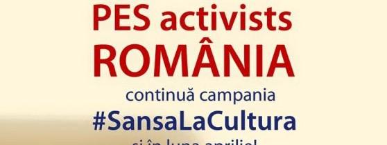 """Campania """"Șansa la cultură"""" continuă și in luna Aprilie."""