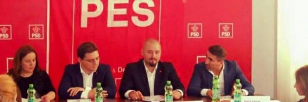 Octavian Andrei Bărbuleț Tărăntuș este noul preşedinte PES Activists Neamţ