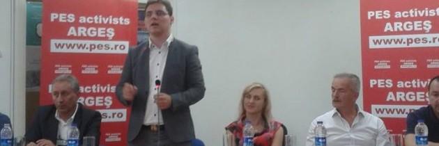 Viorel Enache-coordonator PES Activists Argeș