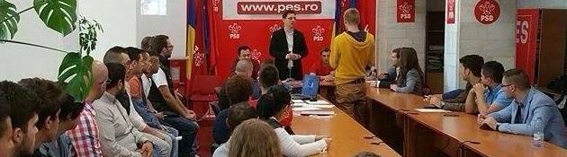 Cristian Munteanu-coordonator PES Activists Galați