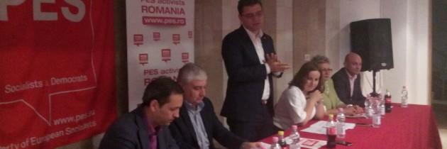 George Pălălău-reales coordonator PES Activists Giurgiu
