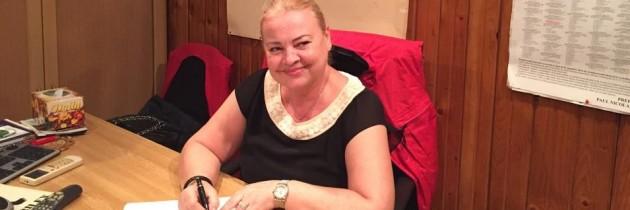 "Doamna deputat Rodica Nassar semnează petiția ""România cere Schengen"""