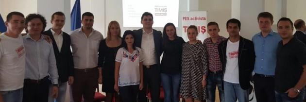 Alexandru Iovescu-reales coordonator PES Activists Timiș