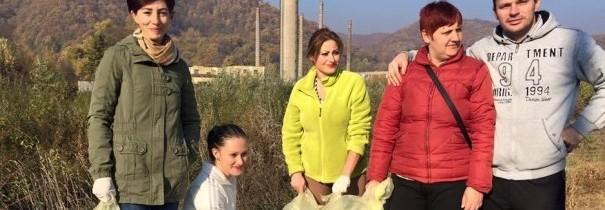 PES Activists Caraș-Severin luptă pentru un mediu mai curat!
