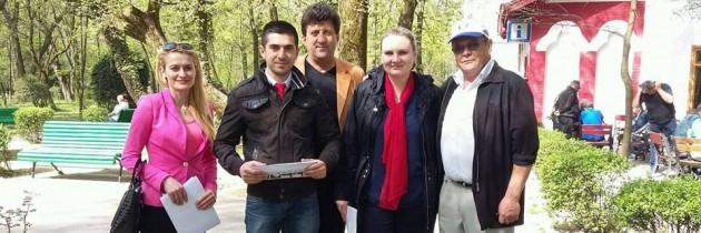 """PES activists Gorj pune """"Accentul PE Sănătate"""""""