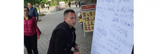 Campania de Ziua Europei ajunge în Alba