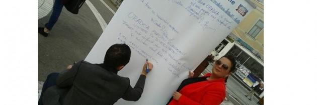 Campania de ziua Europei ajunge în Bihor