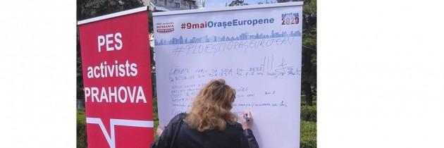 Campania de ziua Europei ajunge în Prahova