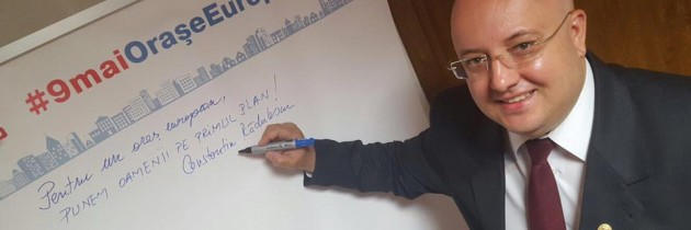 Campania de ziua Europei ajunge în Vâlcea