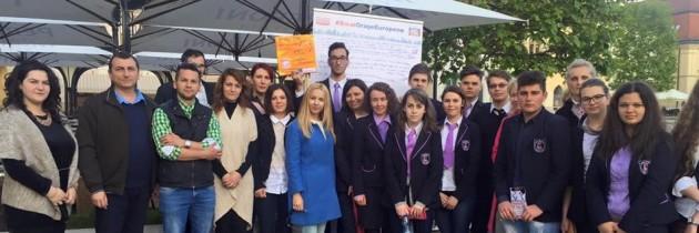 Campania de ziua Europei ajunge în Baia Mare