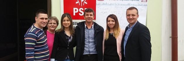 Campania de ziua Europei ajunge la Bistrița Năsăud
