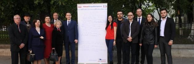 Campania de ziua Europei ajunge în Botoșani