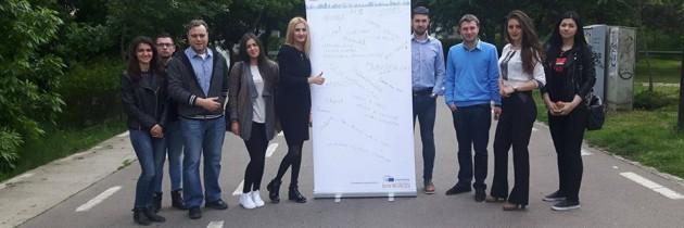 Campania de ziua Europei a ajuns în Galați