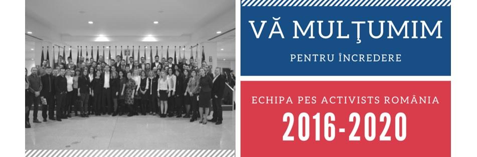 PES activists România vă mulțumește pentru susținere!