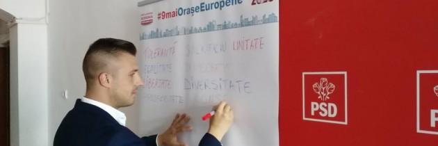 Campania de ziua Europei ajunge în Vaslui