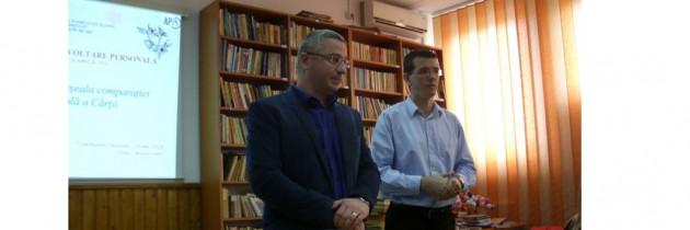 PES activists Gorj marchează Ziua Internațională a Cărții