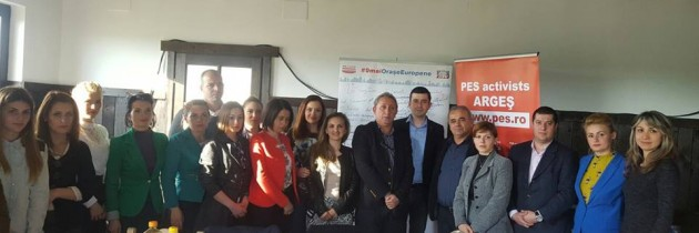 Campania de ziua Europei ajunge în Argeș