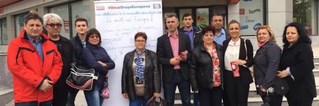 Campania de ziua Europei ajunge în Ialomița