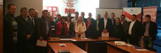 Training – Aleși locali PSD la primul mandat – județul Maramureș