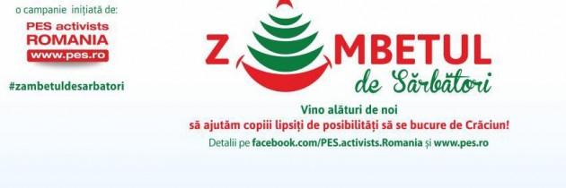 PES activists România reîncepe #zambetuldesarbatori