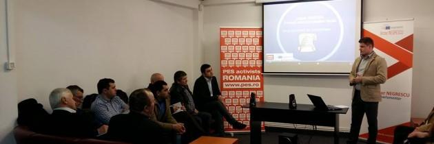 Training – Aleși locali PSD la primul mandat – județul Suceava
