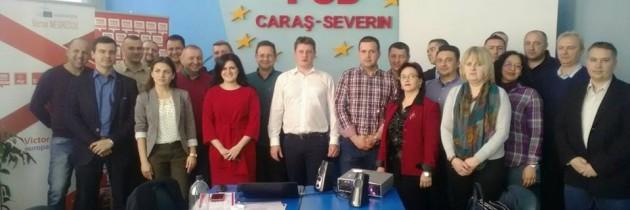 Training – Aleși locali PSD la primul mandat – județul Caraș Severin