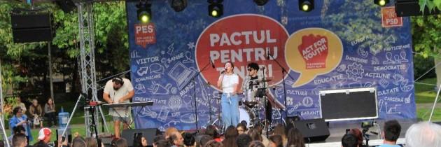 Tinerii români susțin #PactulPentruTineri – #Act4Youth Plan