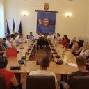 La Zalău, reconfirmând calitatea de coordonator PES activists Sălaj a prietenului nostru Dan Chiș