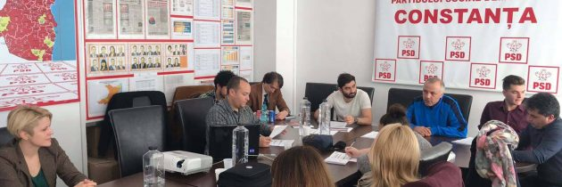 "PES activists Constanța a organizat dezbaterea interactivă ""Noi si U.E."""