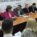 Ședința de constituire a organizației muncipale PES activists Satu Mare