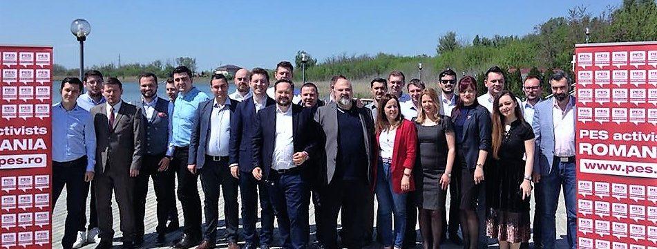 PES Training Academy – pregătiri intense pentru alegerile Europene