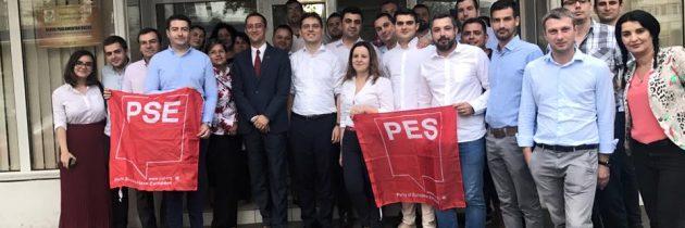 Regionala Sud-Est PES activists Romania.