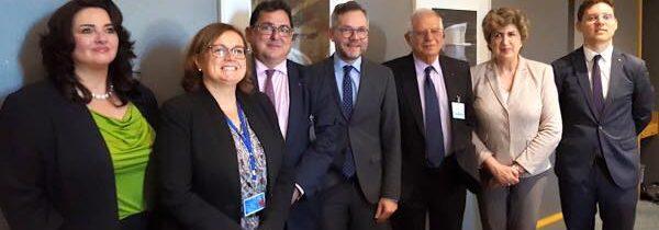 Întâlnirea miniștrilor de afaceri europene ai Party of European Socialists.