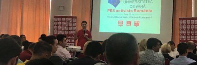 Prima zi a Universității Europene de Vară aPES activists Romania – Constanța 2019