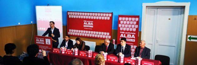Astăzi la Alba Iulia, am relansat organizațiaPES Activists Alba, cu o nouă echipă condusă de colegul nostru Corneliu Mureșan, consilier județean.