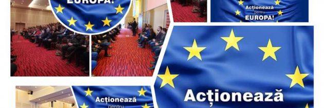 """LIVE! Urmărește acum conferința internațională """"Acționează pentru Europa!"""""""
