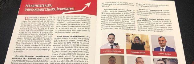 Echipa #PESActivistsAlba în numărul revistei #ProAlba din luna martie 2019.