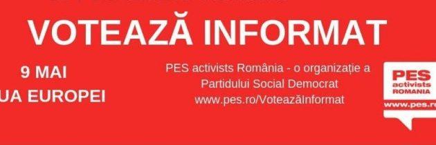 9 MAI – ZIUA EUROPEI marcată în Caraș Severin printr-o campanie de informare despre Uniunea Europeană!